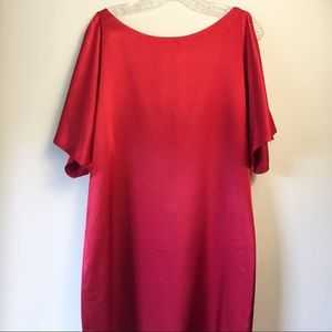 Aidan by Aidan Mattox Red Sheath Dress size 6
